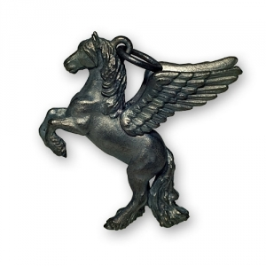 Pegasus-Friese steigend 3-Dimensional in Silber 925